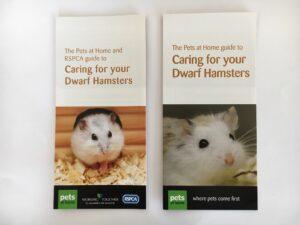 Pets at Home RSPCA Leaflet Dwarf Hamster