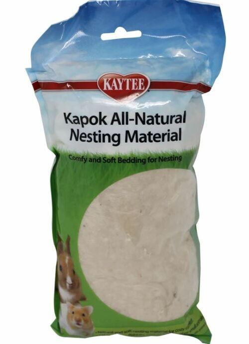 kaytee-all-natural-nesting-material-kapok dangerous hamster bedding