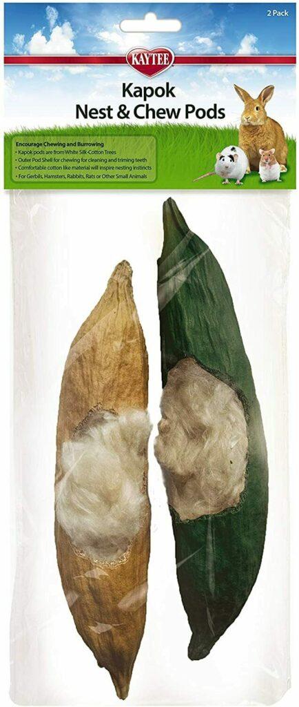 Kaytee Kapok Nest Chew Pods