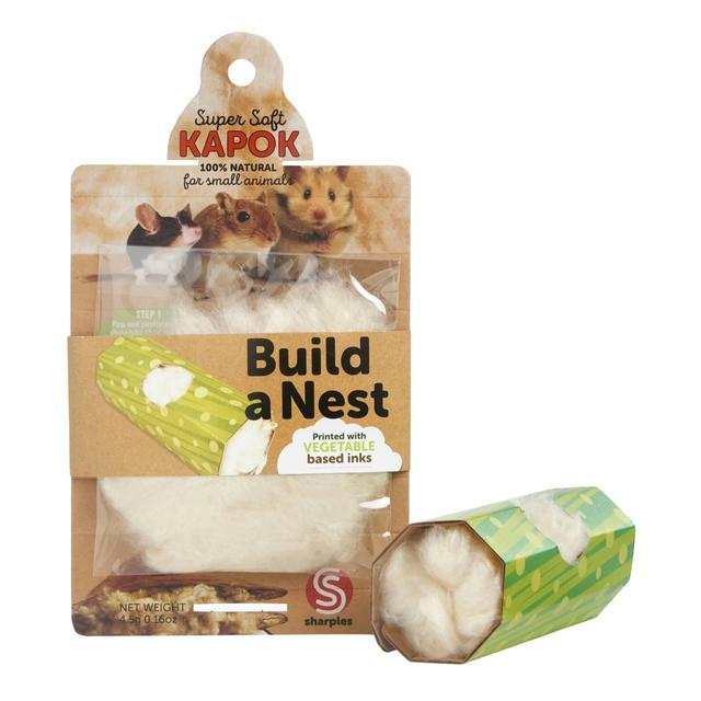 Sharples Kapok Build a Nest Dangerous Hamster Bedding