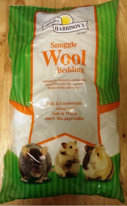 Walter Harrisons Snuggle Wool Dangerous Hamster Bedding